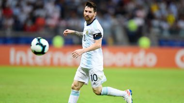 BRA vs ARG Friendly 2019 Match Result: Lionel Messi's Sole Goal Helps Argentina Register 1-0 Victory Over Brazil in Saudi Arabia